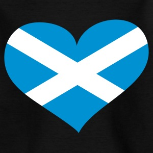 Schwarz Scotland heart / Alba - eushirt.com Kinder T-Shirts - Teenage T-shirt