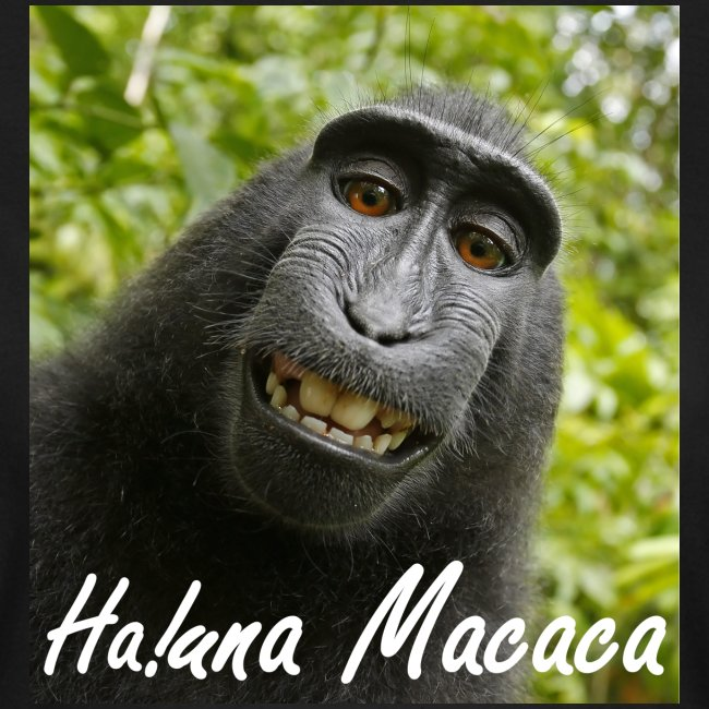 Ha una Macaca dames t-shirt