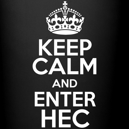Keep Calm and enter HEC