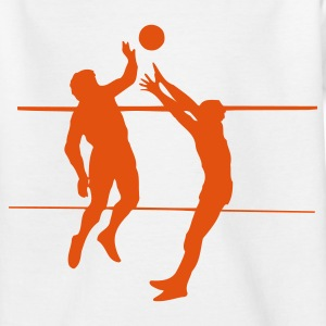 Wit Volleybal Wedstrijd 1C Kinder shirts - Teenager T-shirt