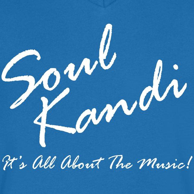 Vee Neck Soul Kandi Script Tee