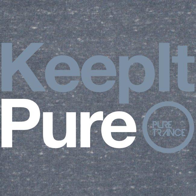Keep It Pure Silver Metallic /White [Male]