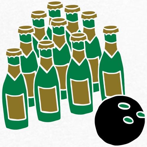 Bowlingball Strike Pins Spare Split Beer Bier Team