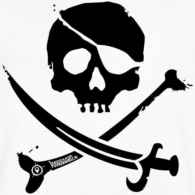 Pirate Crew - Men's V-neck (Black print)