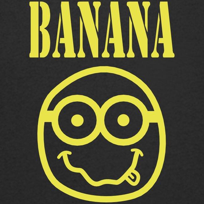 Tshirt homme Col V (man) Bananirvana