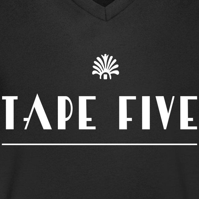 TAPE FIVE branding white, male