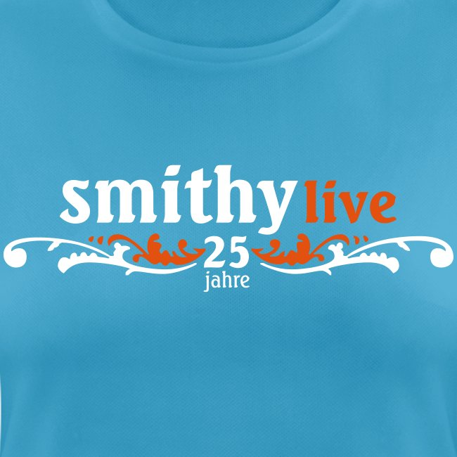SMITHY 25 Jahre - Frauen Premium Rundhals