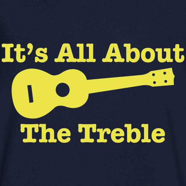 All About The Treble V Neck T