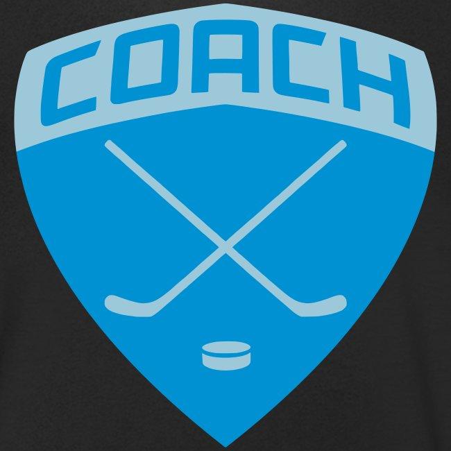 Ice Hockey Coach Men's V-Neck T-Shirt
