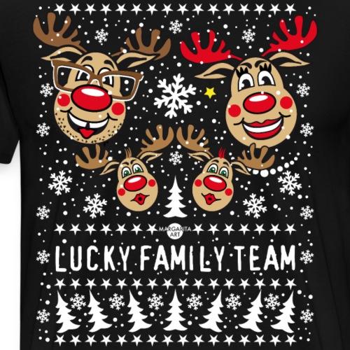100 LUCKY FAMILY TEAM Papa Mama 2 Kinder Winter