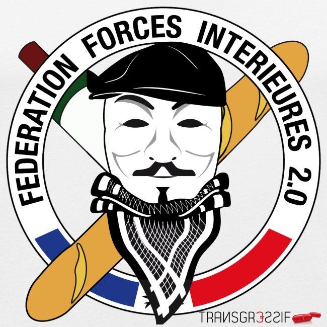 T-SHIRT près du corps homme FFi anonymous