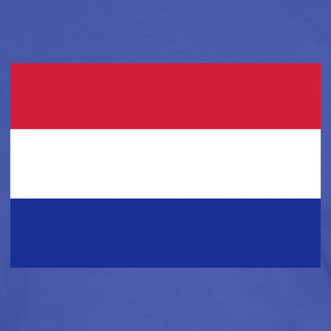 HOLLAND FLAG CONTRAST TEE