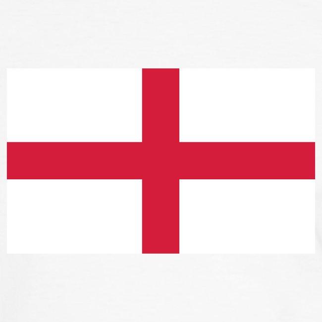 ENGLAND FLAG CONTRAST TEE