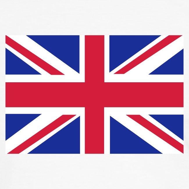 UK FLAG CONTRAST TEE