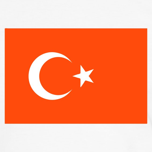 TURKEY FLAG CONTRAST TEE