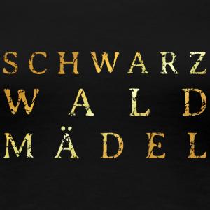 Schwarzwaldmädel Distressed Gold