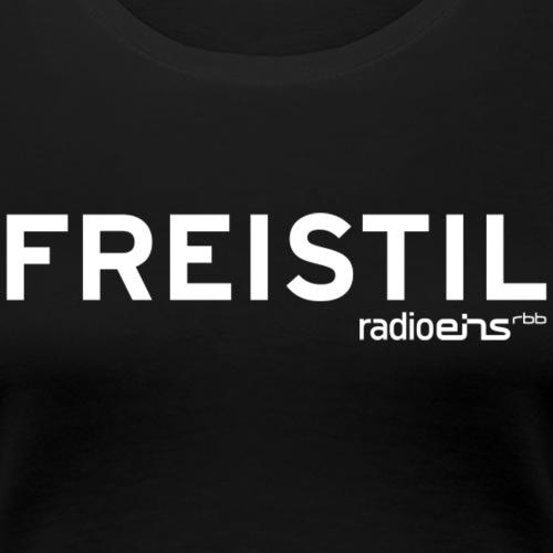 radioeins Freistil weiß