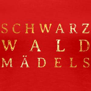 Schwarzwaldmädels Distressed Gold
