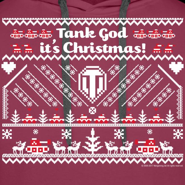 World of Tanks Ugly XMas Hoodie