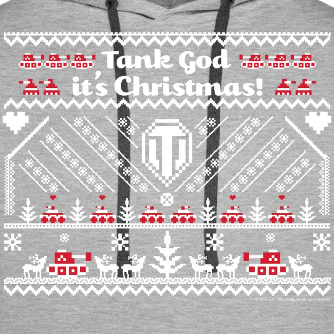 World of Tanks Ugly XMas Hoodie
