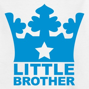 Weiß Little Brother Kinder T-Shirts - Teenager T-Shirt