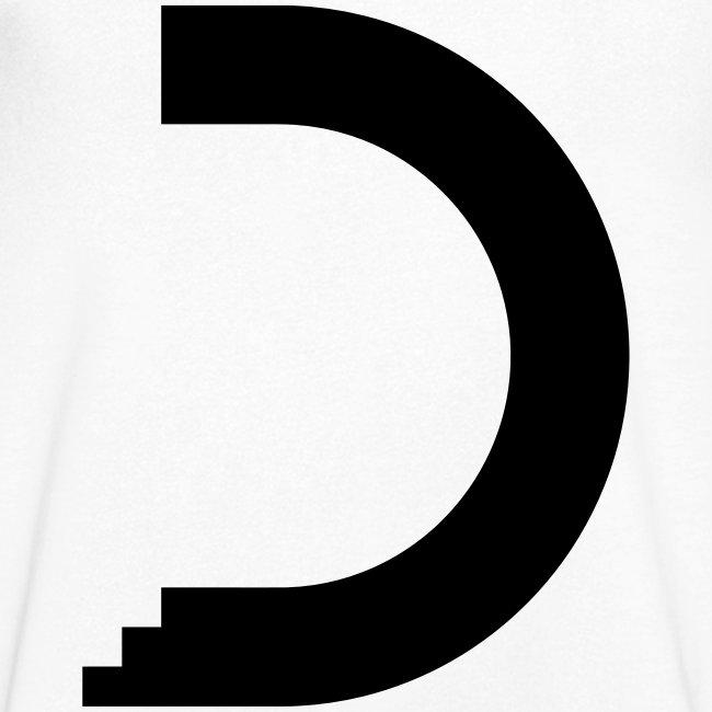 dreamshirt men white - black