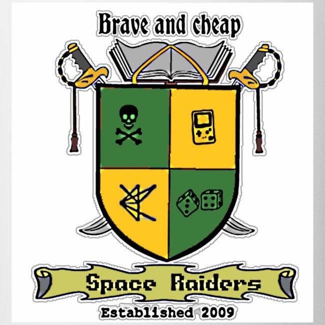 space raiders commemorative mug