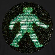 Design ~ space raiders greenman (men's classic black)