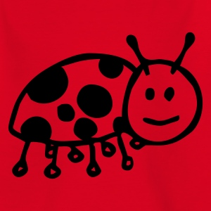 Rot Marienkäfer Kinder T-Shirts - Teenager T-Shirt
