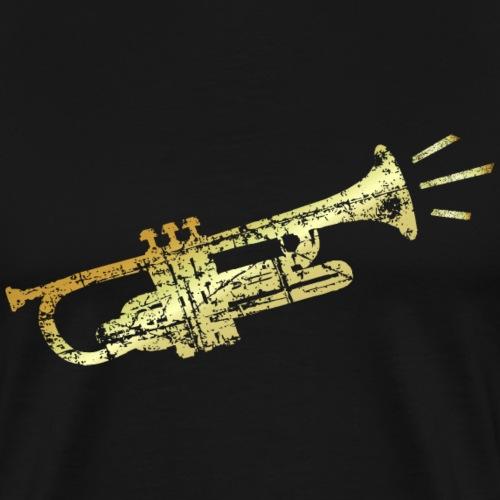 Trompete (Antik Gold)