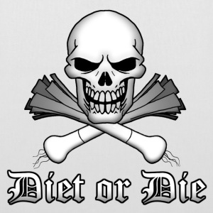 Blanc Diet or Die Sacs - Tote Bag