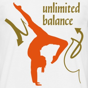 Wit Unlimited Balance 2C T-shirts - Mannen T-shirt