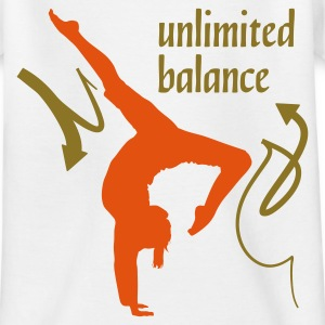 Wit Unlimited Balance 2C Kinder shirts - Teenager T-shirt