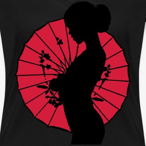 Geisha - sexy Frauen Silhouette