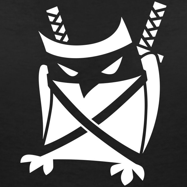 Ninja V-Neck Eule