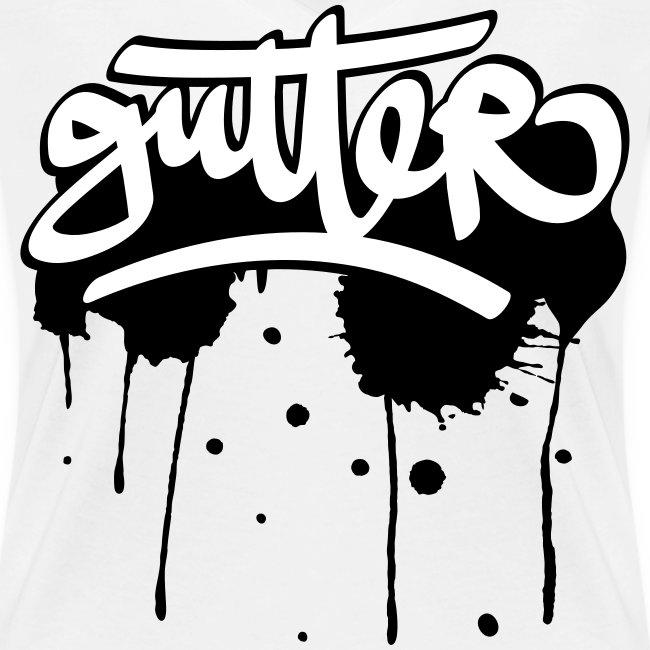 Gutter splatter (W)