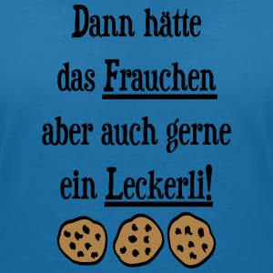 "Shirts mit Tier-Motiv ""Hund Frauchen Leckerli"""