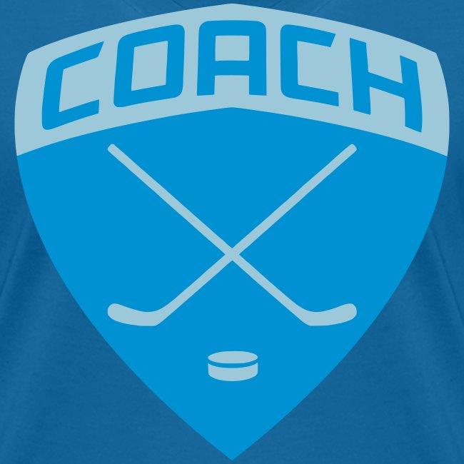 Ice Hockey Coach Women's V-Neck T-Shirt