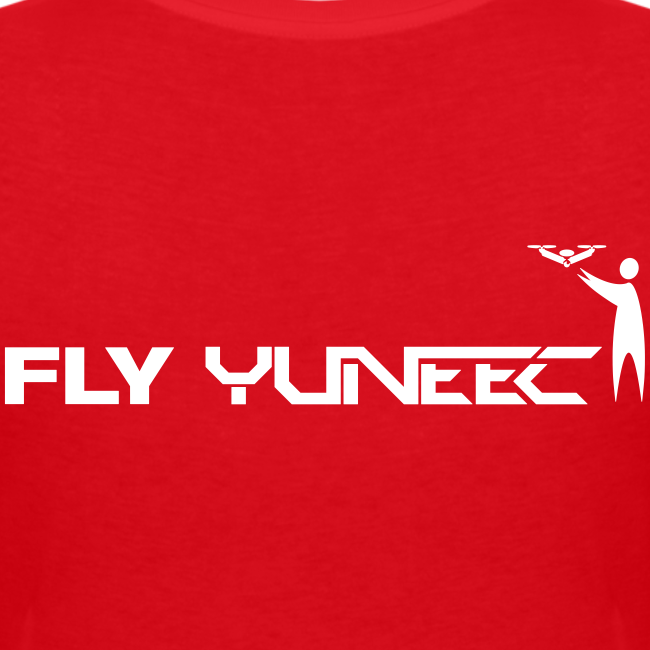 T-shirt V: Fly Yuneec (woman) | Red