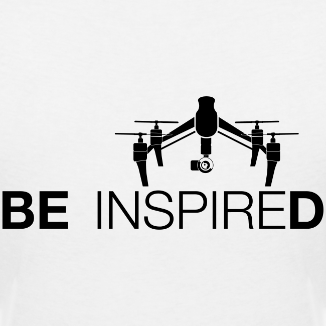 T-shirt V: Be Inspired (woman) | White