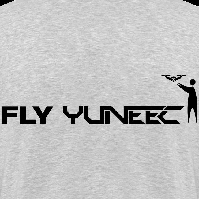 T-shirt V: Fly Yuneec (woman) | Grey