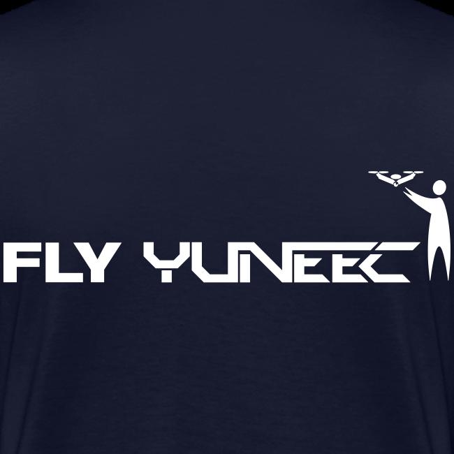 T-shirt V: Fly Yuneec (woman) | Navy
