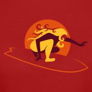 Motiv ~ Bio-Shirt rot/orange