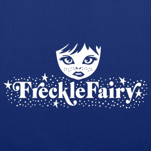 Royal blue Sexy Frackle Fairy Girl - Sommersprossen Fee Bags  - Tote Bag