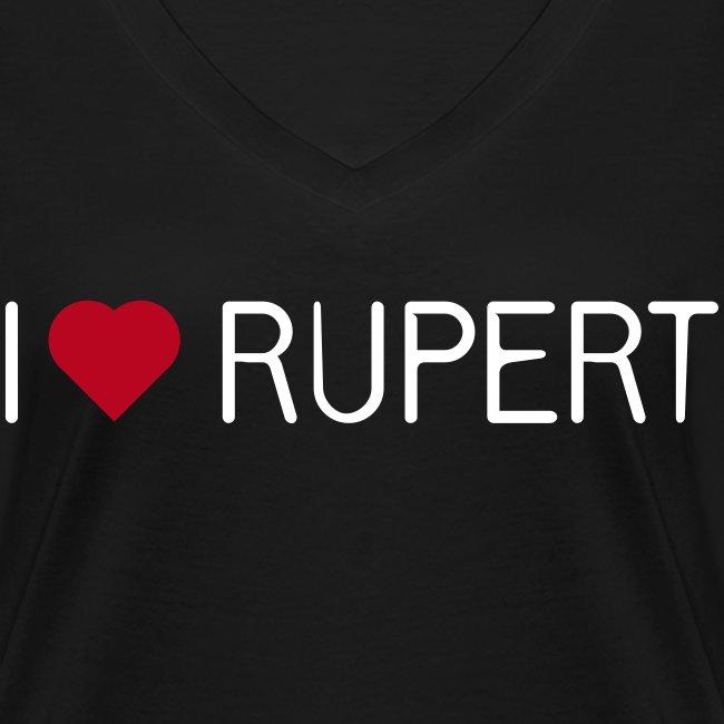 I-love-Rupert-Shirt (V-Neck)