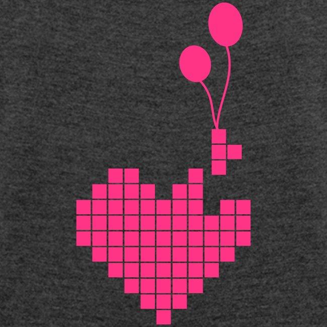 T-shirt Femme (woman) Heart'n Balloons