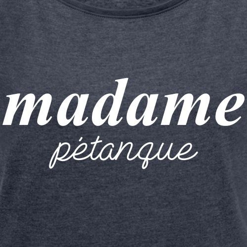 Madame Pétanque - blanc