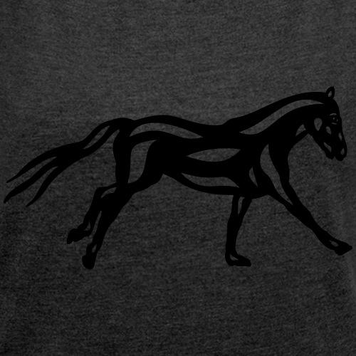 Abstraktes Pferd Clementine