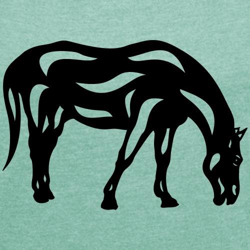 Abstraktes Pferd Hazel