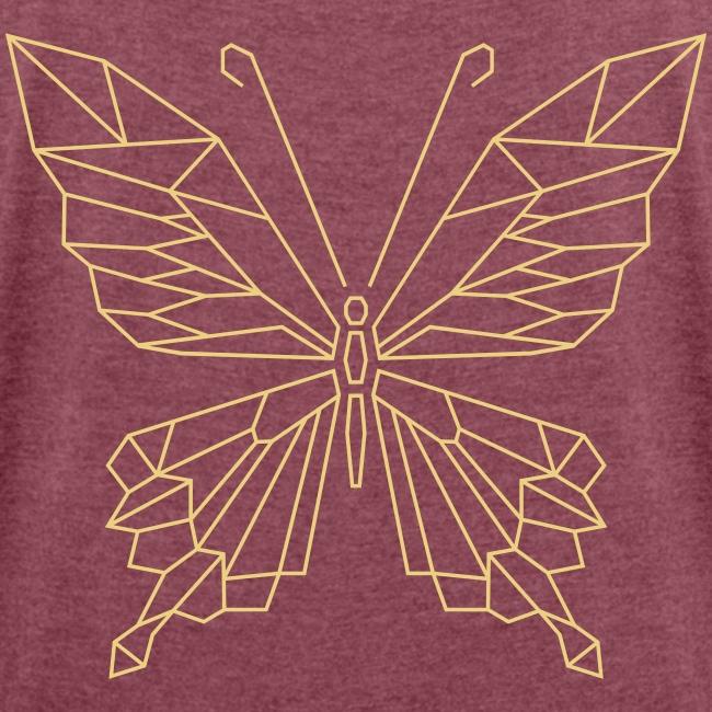 Geometrischer Schmetterling